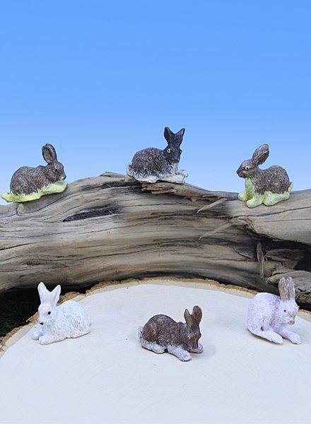 Mini Rabbits (12 PC SET)