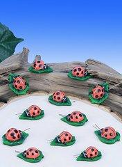 Mini Ladybugs (12 PC SET)