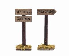 Fairy Garden Signs (12 PCS SET)
