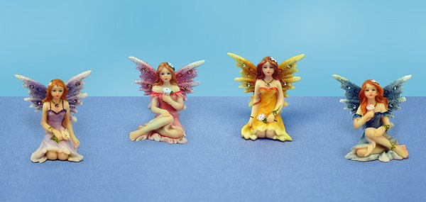 Painted Fairy with Diamond (12 PCS SET)