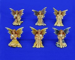 Mini Painted Fairy with Pearl (12 PCS SET)