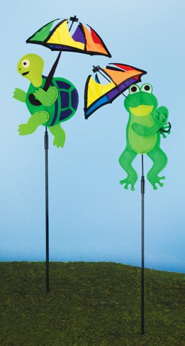 Turtle and Frog Wind Spinner (12 PCS SET)