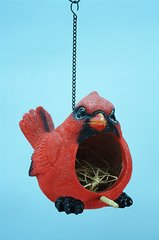 Red Cardinal Bird House (4 PCS SET)
