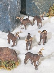 Mini Reindeer (12 PC SET)