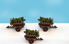 Wooden Cart (12 PCS SET)