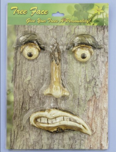 Angry Tree Face (4 PC SET)