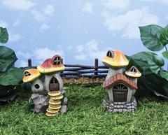Sm Mushroom House with LED Light (6 PCS SET)