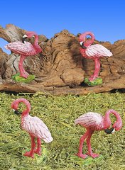 Mini Flamingo (12 PC SET)