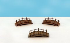 Wooden Bridge (12 PCS SET)