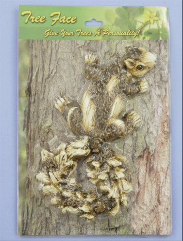 Single Squirrel Tree Face (4 PC SET)