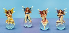 Fairy on Gazing Ball (12 PCS SET)