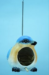 Blue Bird  Bird House (4 PCS SET)