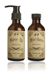 SHAVE OIL AND AFTERSHAVE BY HINTASCENT - 4 OZ