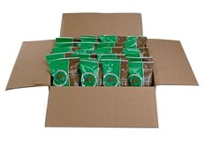 Gourmet Decaffeinated Premium Arabica 10lbs Medium Roast 2.0oz Fractional 80Pk - AM Coffee