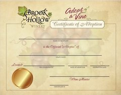 Adopt a Vine (Certificate Only)