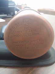 GENERAL ELECTRIC GE 9F62DDD065 15.5kV 65 AMP CURRENT LIMITING FUSE