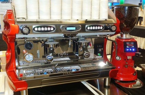lira espresso machine