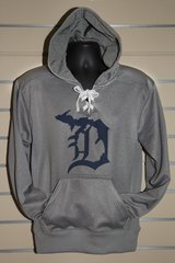 Detroit Michigan D Lace Hoody (Lt. Grey)