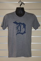 Detroit Michigan D Tee (Grey Triblend)