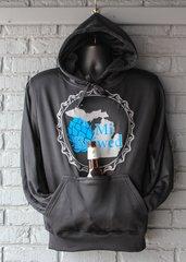 MI Brewed Tailagte Hoodie (Black)