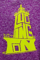 Lighthouse Neon Poly Fleece Hoody (Magenta/Neon Yellow)