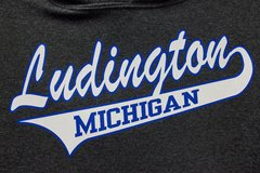 Ludington Baseball Hoody (Black Heather)