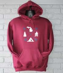 Arrows Michigan Hoodie (Maroon)