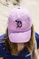Detroit Michigan D Hat (pink)
