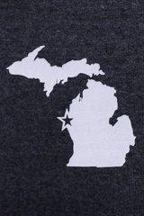 Michigan Full Zip 2 Color (Black/Royal)