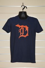 Detroit Michigan D Tee (Navy)