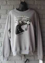 Ludington State Park Crew Neck Sweatshirt (Oxford)