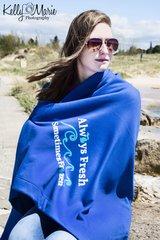 Always Fresh Sometimes Frozen Beach Blanket