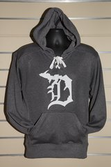 Detroit Michigan D Lace Hoody (Dark Grey)