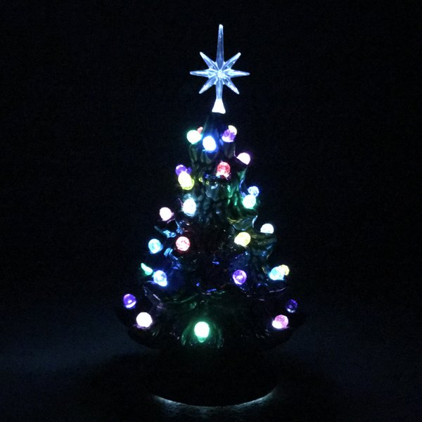 6 green with multi lights extra small christmas tree - Small Christmas Lights