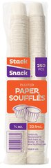Paper Medicine Cups - 3/4 oz. Box of 250 by Stack Snack