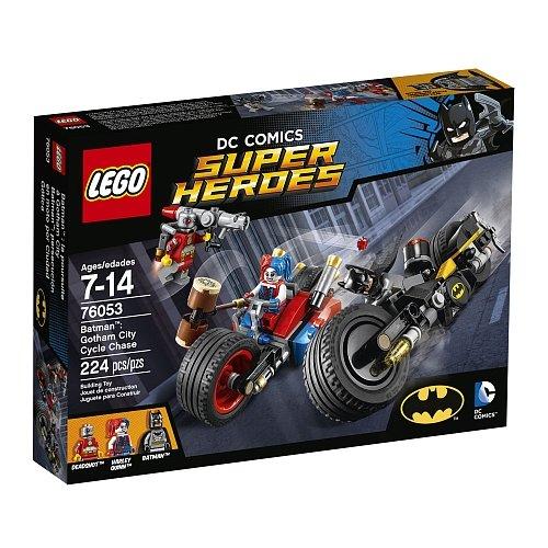 Lego Super Heroes - Batman Gotham City Cycle Chase 76053