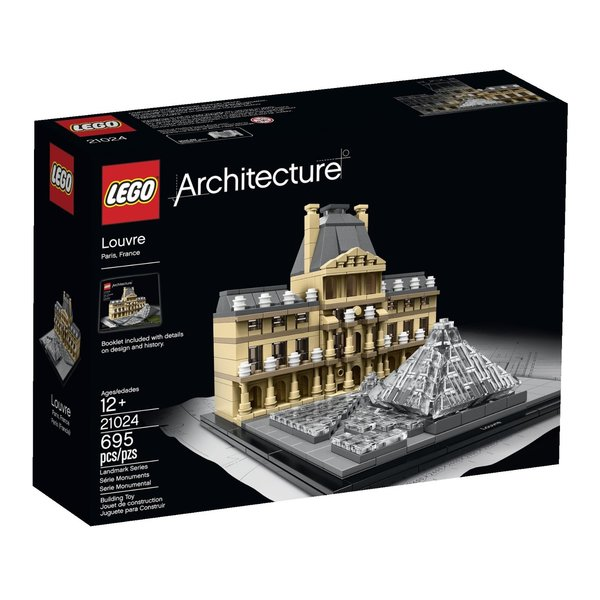 Lego Architecture - The Louvre, Paris, France 21024