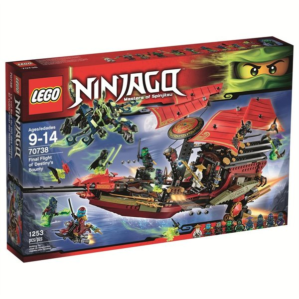 Lego Ninjago Final Flight of Destiny's Bounty 70738