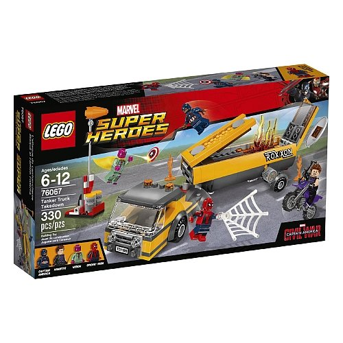 Lego Super Heroes - Tanker Truck Takedown 76067