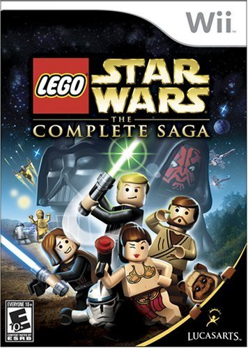 Lego Star Wars: The Complete Saga (Nintendo Wii) (Discontinued)
