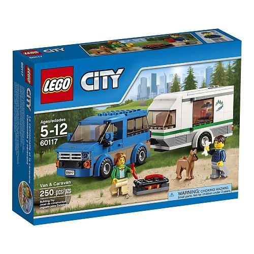 Lego City - Van and Caravan 60117