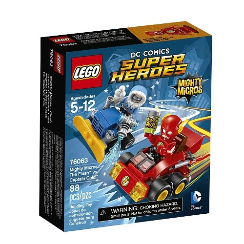 Lego DC Comics Mighty Micros - The Flash Vs Captain Cold 76063
