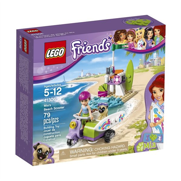 Lego Friends - Mia's Beach Scooter 41306