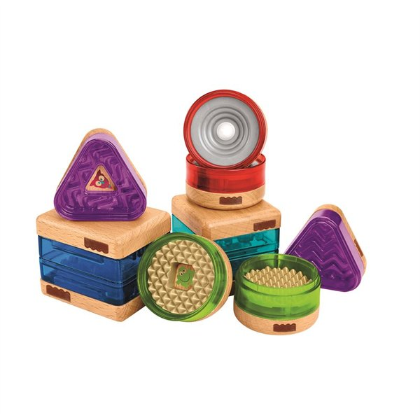 Fisher Price Wooden Toys Surprise-Inside Shapes Set