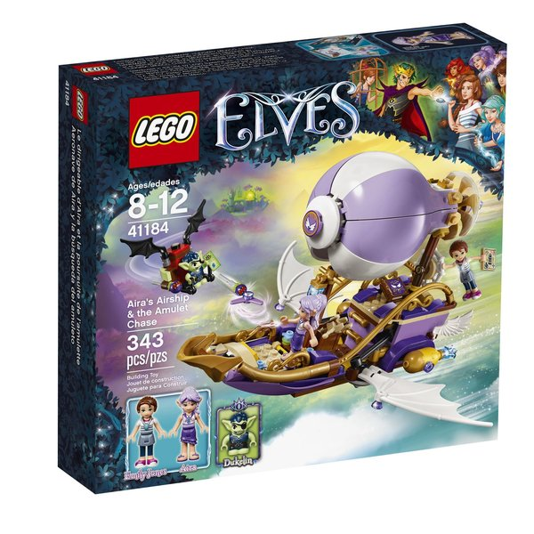 Lego Elves - Aira's Airship And The Amulet Chase 41184