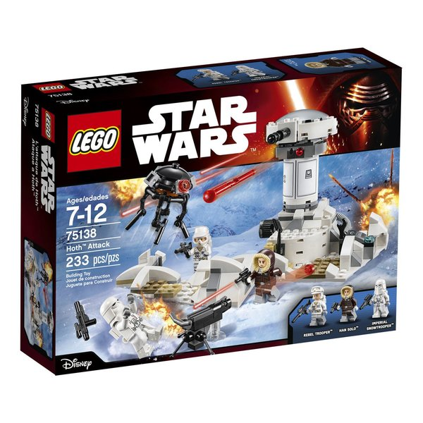 Lego Star Wars - Hoth Attack 75138