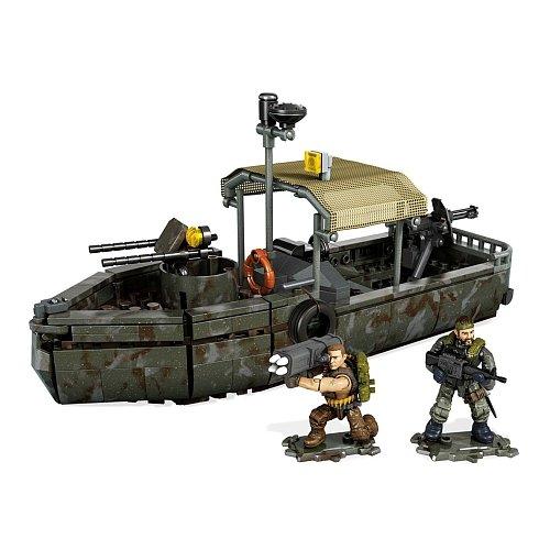 Mega Bloks Call Of Duty - Riverboat Raid Collector Construction Set