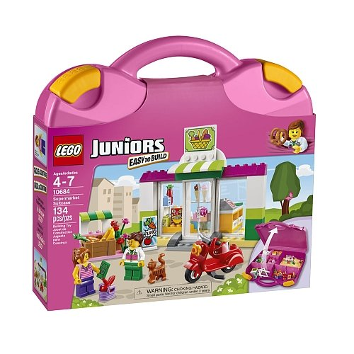 Lego Juniors - Supermarket Suitcase 10684