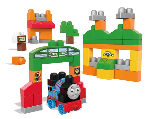 Mega Bloks Thomas & Friends - Sodor Adventures Building Set (70 pcs)