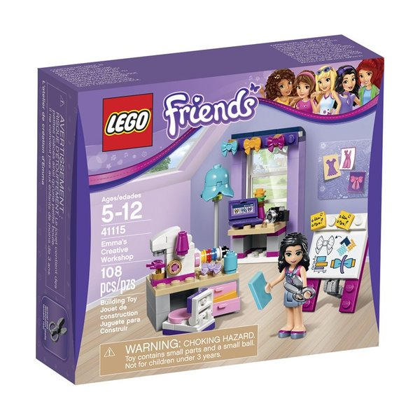 Lego Friends - Emma's Creative Workshop 41115